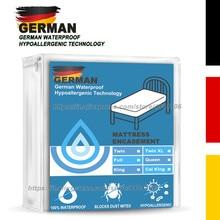 German Waterproof Hypoallergenic Technology Premium Mattress Protector - Vinyl Free