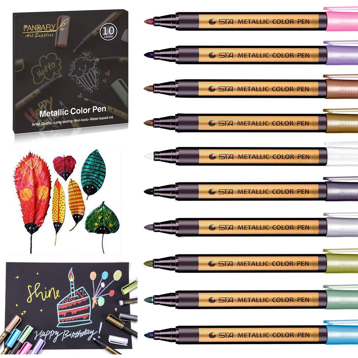 B1042a Buy Glitter Paint Pens For Glass And Get Free