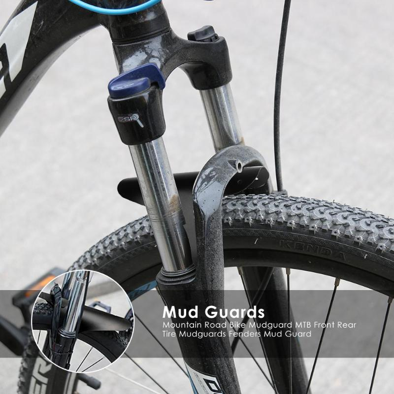 Outdoor Cycling Road Front Rear Mud Guard Mudguard Set Mountain Bike Tire Fender