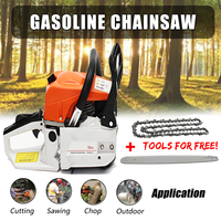 20 Inch 4500W Cordless Professional Electric Chainsaw Gas Engine Cycle Chain Saw 10000 20000rpm Power Gasoline Chainsaw