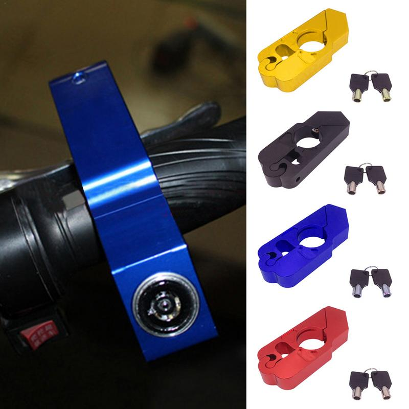 Handlebar Lock For Handlebar Brake Anti-theft Lock Lever Motorcycle Universal Models Storage Containers Lock