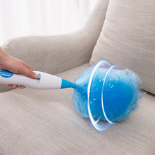 Dust Cleaner Electric Spin Duster Feather Cleaning Household Straw Tube Vacuum Attachment Brush Dirt Remover