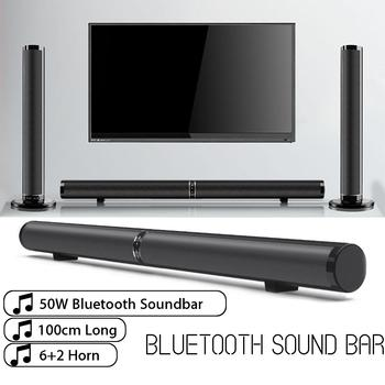 50W bluetooth Soundbar for TV Home Theater Virtual 3D Surround 1