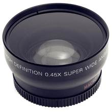 Group Vertical 0.45x 52mm Wide Angle Macro Combination Wide-Angle Lens for Nikon for Canon for Sony r29(China)