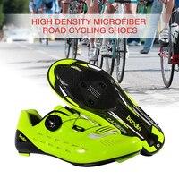 סיבי פחמן Ultralight רכיבה על אופניים נעל MTB נעלי אופני גברים נעליים לגברים לנשימה אוטומטי הרי מנעול אופני נעליים|נעלי רכיבה על אופניים|   -