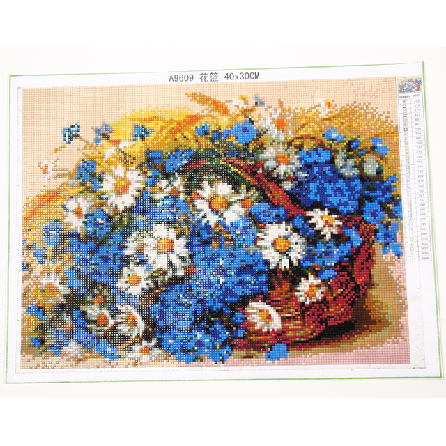 Large size Diy Diamond Painting Cross Stitch full Diamond Embroidery Still life flower Lily rose picture for room Decor YY1366