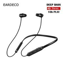 EARDECO 4D стерео Беспроводной наушники сильный бас Bluetooth наушников Шум наушники Беспроводной наушники гарнитура с микрофоном