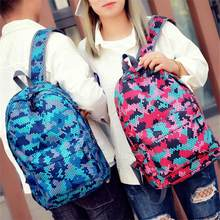 Fashion Unisex Waterproof Backpack Preppy Style Letter Print Students School Bag For Teenage Girls Boys Rucksack mochila(China)