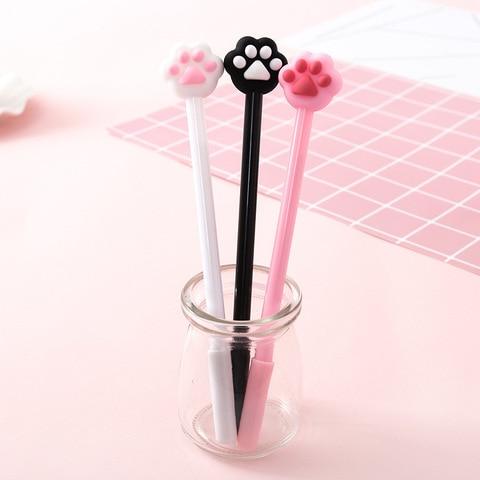 40 pcslote criativo caneta gel da pata