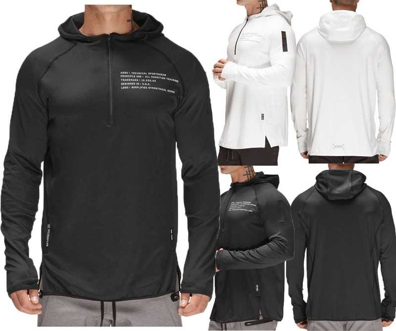 Winter Heren Lange Mouw Sweatshirt Hooded Tops Trui Jumper Trui