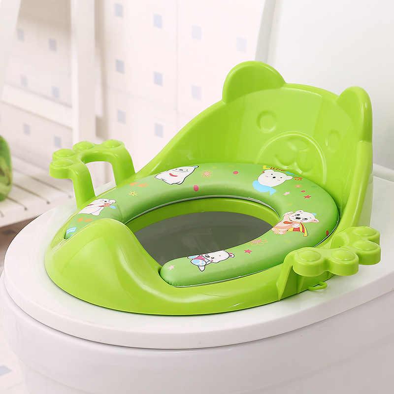 Взрывные модели для мальчиков и девочек, детские, увеличивающие рост, мягкие, для туалета, Детские ободок для унитаза, оптовая продажа