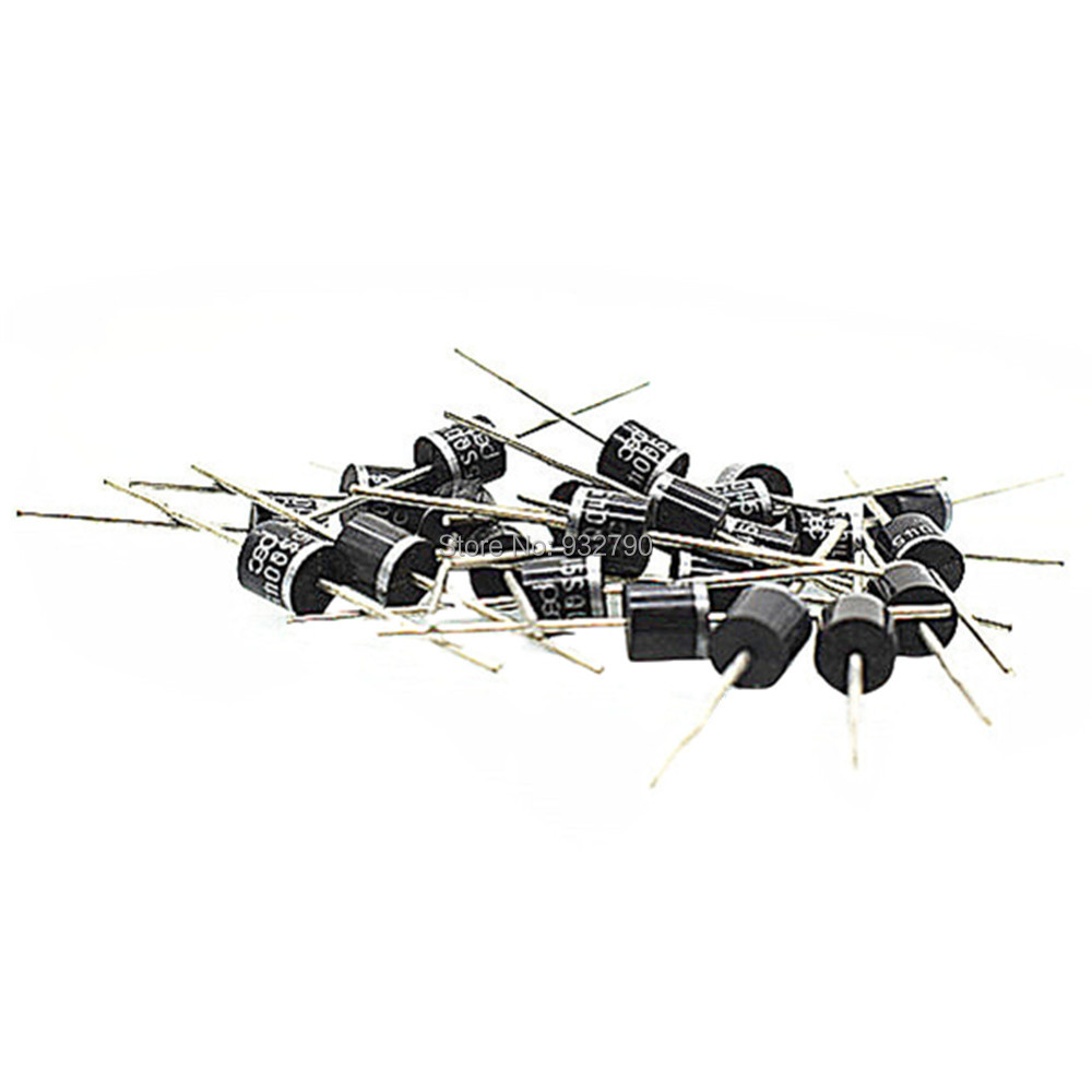 100pcs 15A 45V Axial Rectifier Blocking Diode for DIY