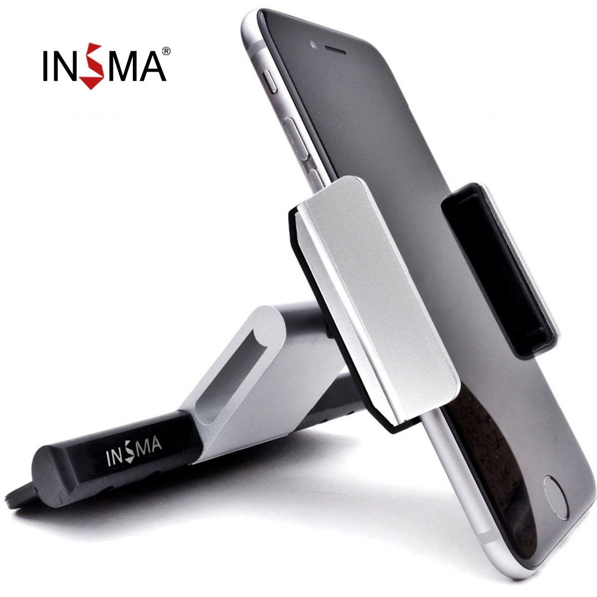 Universal Car CD Slot Mobile Phone Holder Mount Cradle 360 Rotating Clip For All 3.5-6.0 Inch Smartphone For iPhone for Samsung