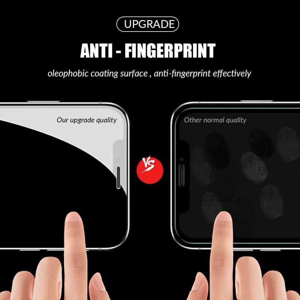 9D 保護 Iphone 8 Xr Xs Xs 最大強化ガラス Iphone 5 × 6 6s 7 8 プラス Xs ガラススクリーンプロテクター保護