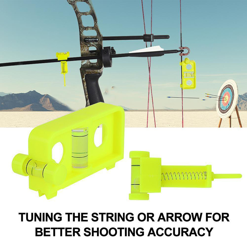 Bow Tuning Mounting String Level Combo Compound Bow Arrow Hunting Tool Hunting Supplies Bow And Arrow Branches