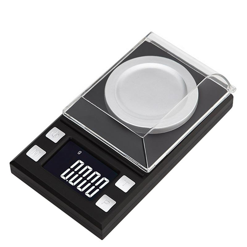 High Precision Jewelry Electronic Scale 0.001g Portable Mini Digital Balance Level LCD Pocket Weighting Electronic Scales