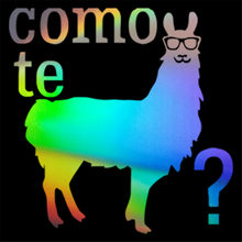Como Te Liama Novidade Engraçado Alpaca Vestindo Óculos De Sol Do Carro Adesivo para Truck Bumper Porta Laptop Kayak Vinyl Decal 11.5 centímetros X 11.5 cm