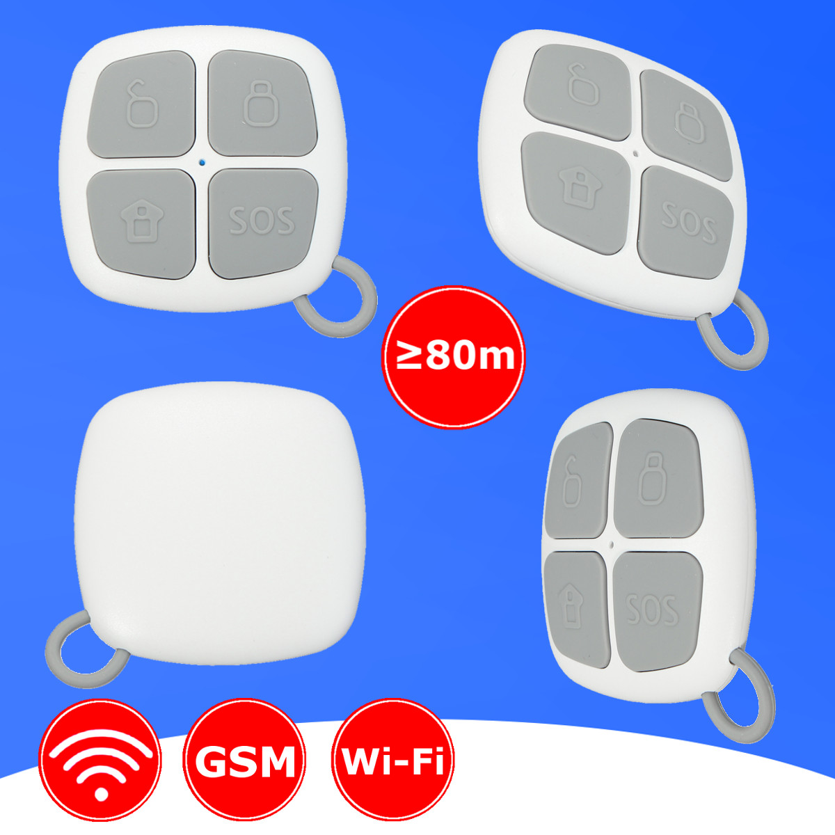 NEW Safurance Wireless Remote Control Alarm Sensors Accessories For G90B PLUS WiFi GSM Home Alarm System Home Security fuers 2018 update g90b plus 2g 2 4g wifi gsm sms wireless home security alarm system ios android app remote control