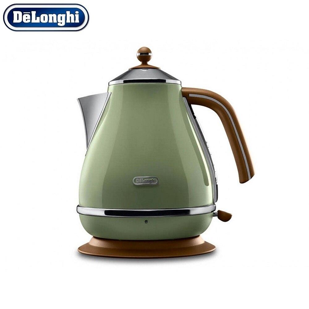 лучшая цена Electric Kettles Delonghi KBOV 2001.GR home kitchen appliances kettle make tea