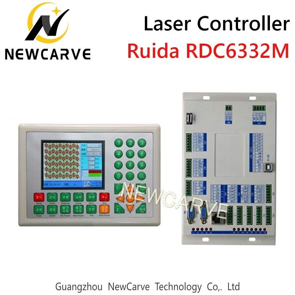 Купить с кэшбэком RDC6332M RDC6332G Laser Control System DSP Controller For CO2 Laser Cutting Machine NEWCARVE