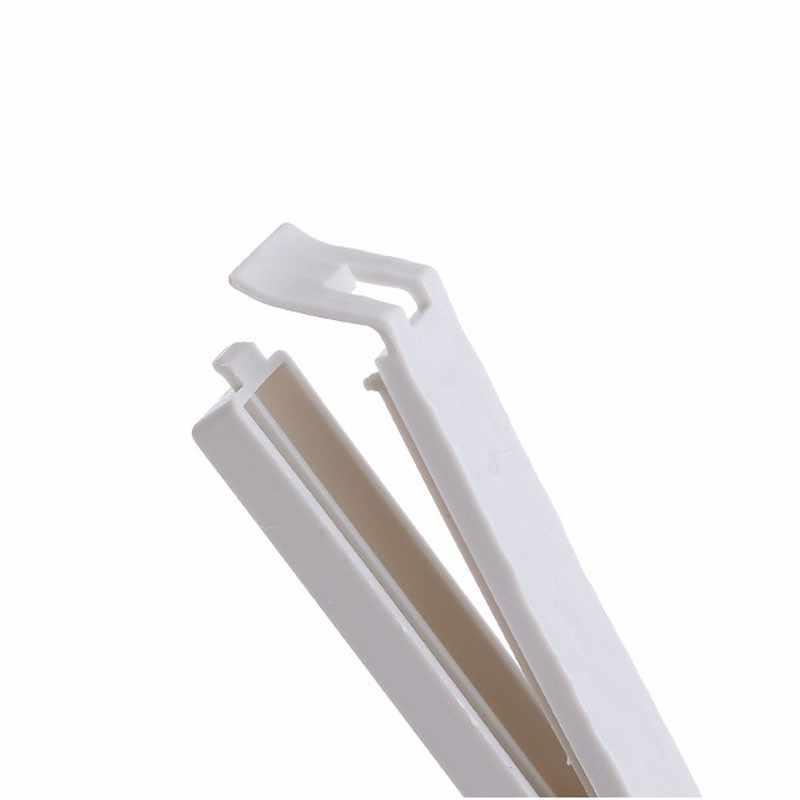 5pcs Portable Food Snack Storage Seal Sealing Bag Clips Plastic Milk Powder Snacks Storage Clips Household Tool
