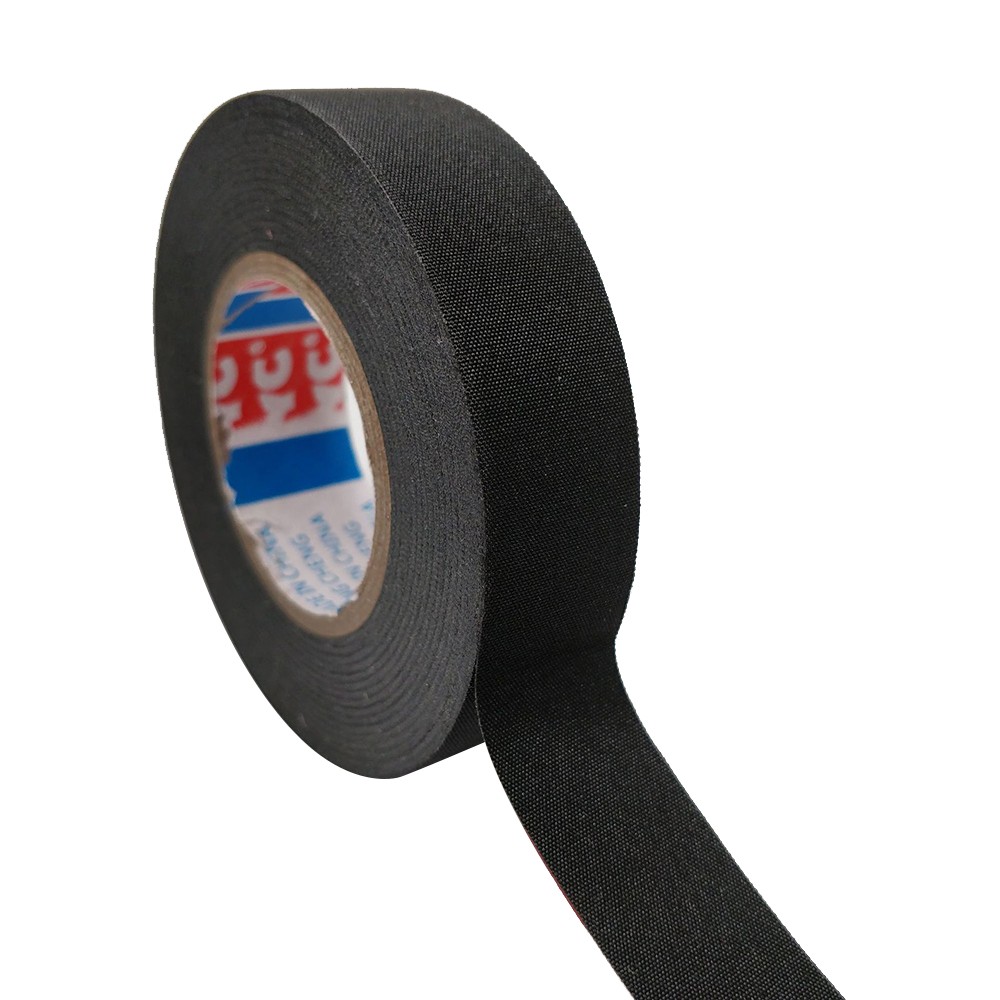 15m Black Hot Adhesive Cloth Fabric Tape Cable Looms car styling Car Vehicle Wiring Harness Noise Sound Insulation Fleece Tape15m Black Hot Adhesive Cloth Fabric Tape Cable Looms car styling Car Vehicle Wiring Harness Noise Sound Insulation Fleece Tape