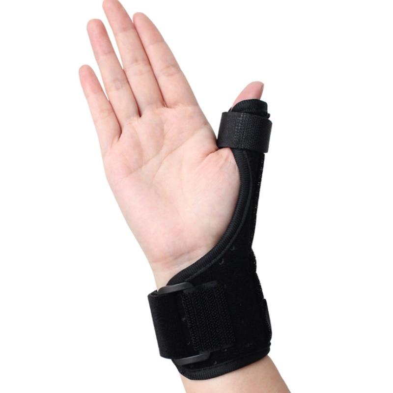 Medical Wrist Support Wrap Splint Brace Wrist Sprain Finger Correction Tenosynovitis Wristbands Protection Thumb Pads