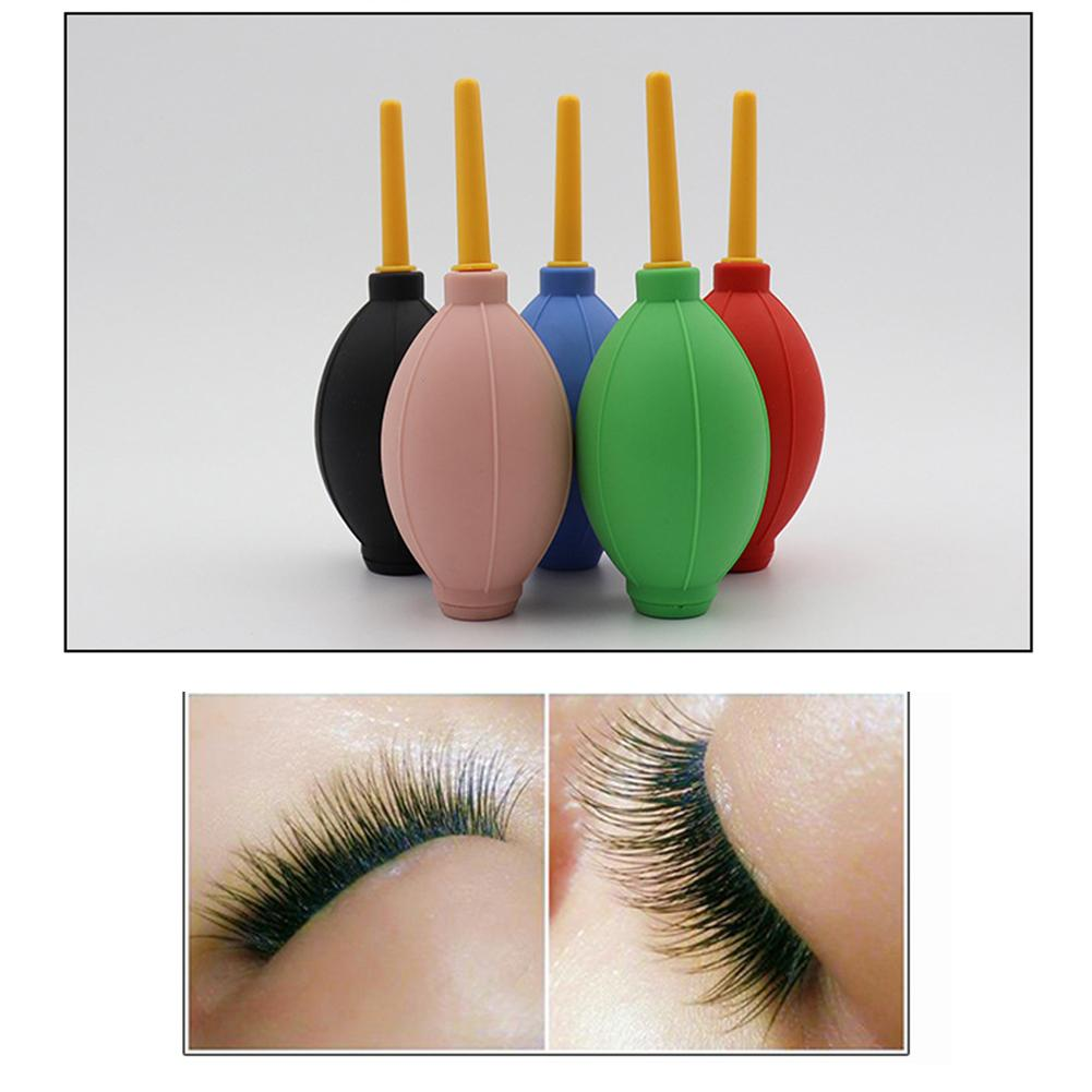 1PC Planting Eyelash Air Blower Nail Blowing Ball Grafting Eyelash Tool Dry Fast To Prevent Eyes From Being Hurt Random Color in False Eyelashes from Beauty Health