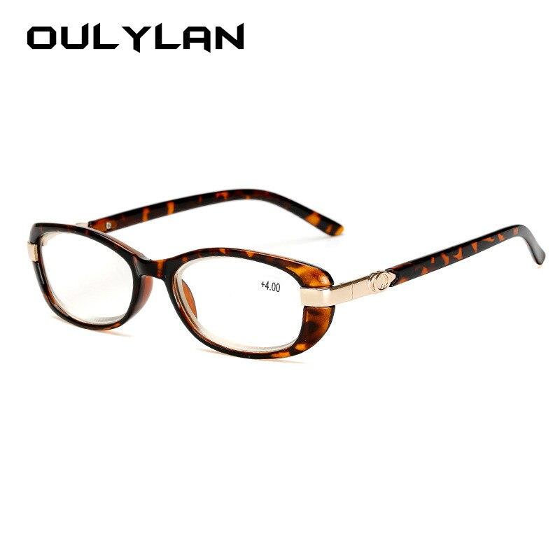a0815e09e0e9 Oulylan Men Business Reading Glasses Vintage HD Clear Lens for Women  Eyeglasses Hyperopia Reading Diopter +1.0 1.5 2.0 2.5 3.0