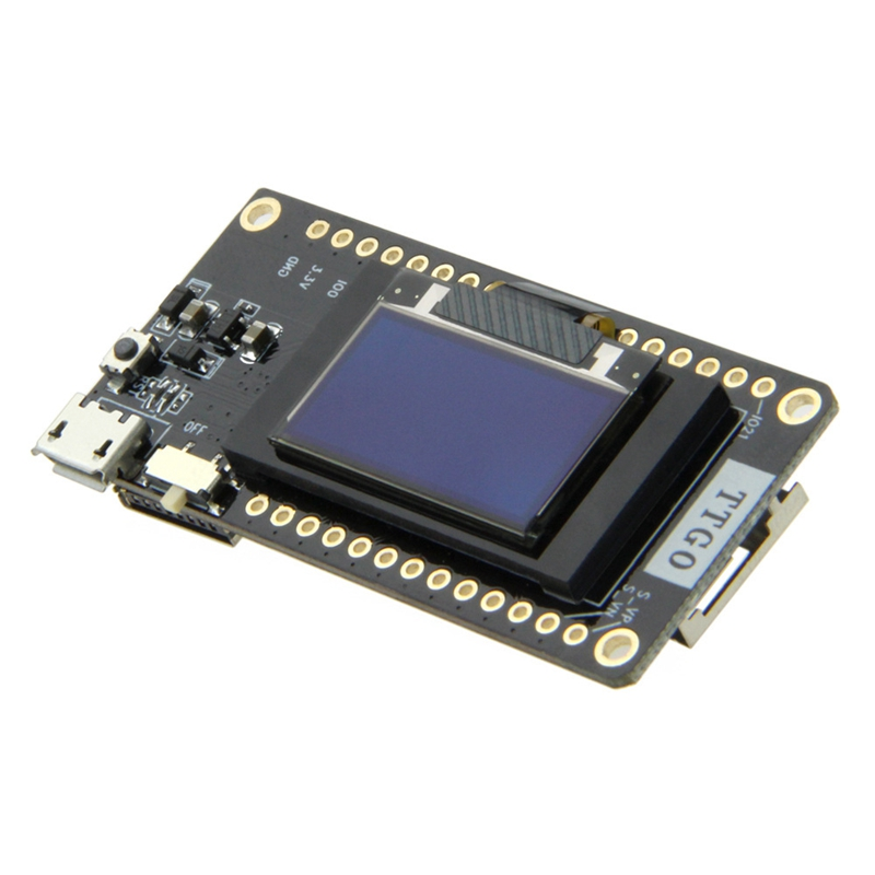 Image 2 - Ttgo Newest Lora32 V2.0 868Mhz Esp32 Lora Oled 0.96 Inch Sd Card Blue Display Bluetooth Wifi Esp32 Esp 32 Module With Antenna-in Circuits from Consumer Electronics