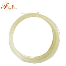 12M High Quality Artificial Multifilament Gut Tennis Badminton Strings Single White Large Tennis Soft Contral Line Q1299CMC