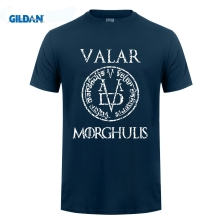 GILDAN Game of Thrones Valar Morghulis T Shirt Men Women T-Shirt Cotton Tshirt Clothing Summer Top GOT Tee Plus Size