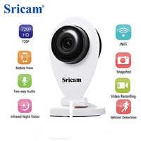 Sricam SP009 caméra IP HD IR Cut Wifi réseau sans fil bébé moniteur caméra 720P CCTV sécurité à domicile deux voies vidéo caméra intérieure