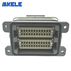 Image 5 - Mk he 048 1 48 Pins Rechthoekige Socket Harting Connector Meerdere 1 24pin En 25 48pin Heavy Duty Connector