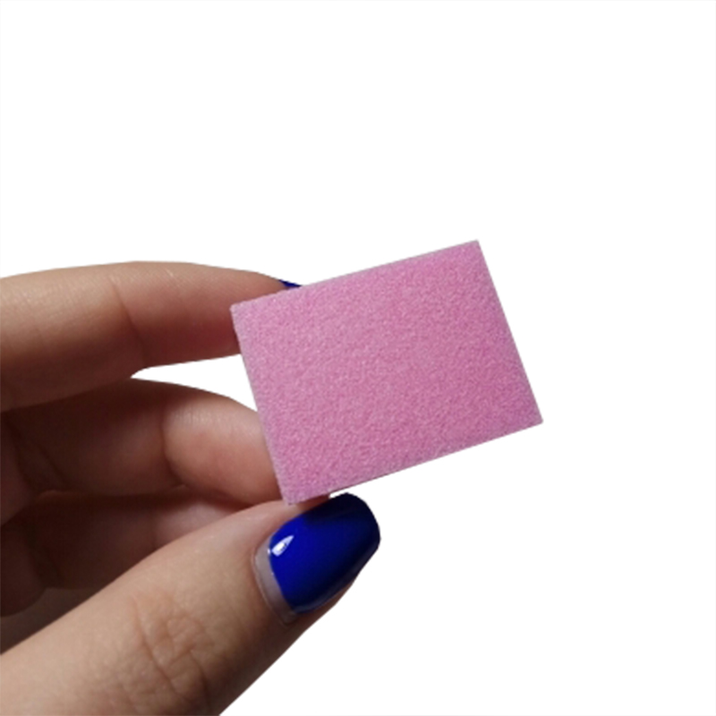 Image 5 - 500pcs/lot mini nail file buffs for nails Buffer block pink sanding tools pedicure file emey board nail art manicure accessorie-in Nail Files & Buffers from Beauty & Health