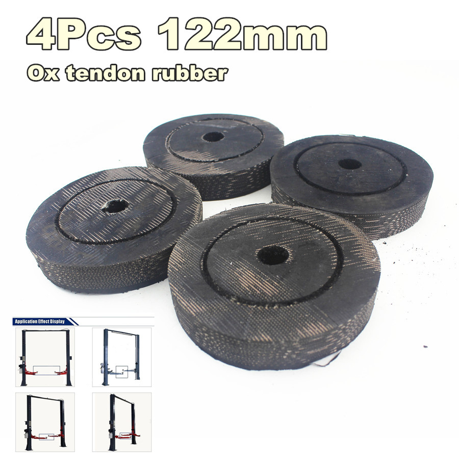 Automobiles & Motorcycles 4pcs/lot 122mm Round Ox Tendon Rubber Arm Pads Lift Pad Rubber Arm Pad Fit For Auto Lift Car Auto Truck Hoist Universal Car Repair Tools