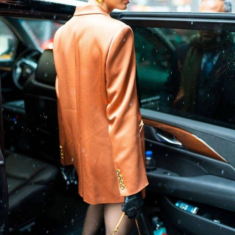 LANMREM 2019 Neue Frühjahr Frauen Kleidung Vintage Mode Jacken Kerb Kragen Doppel Bresdted Anzug Jacke Weibliche Vestido ZA2521-in Basic Jacken aus Damenbekleidung bei  Gruppe 3