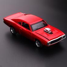 Dodge charger литая металлическая модель автомобиль звук и свет тянуть назад автомобиль игрушка