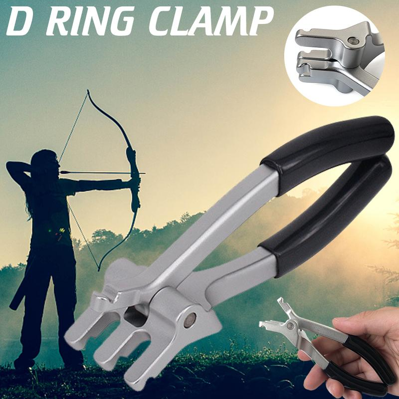 Image 2 - Aluminum Alloy D Ring Pliers Bow Arrow Archery Equipment Compound Bow Installation D Ring Clamp Special Convenient And Practical-in Bow & Arrow from Sports & Entertainment