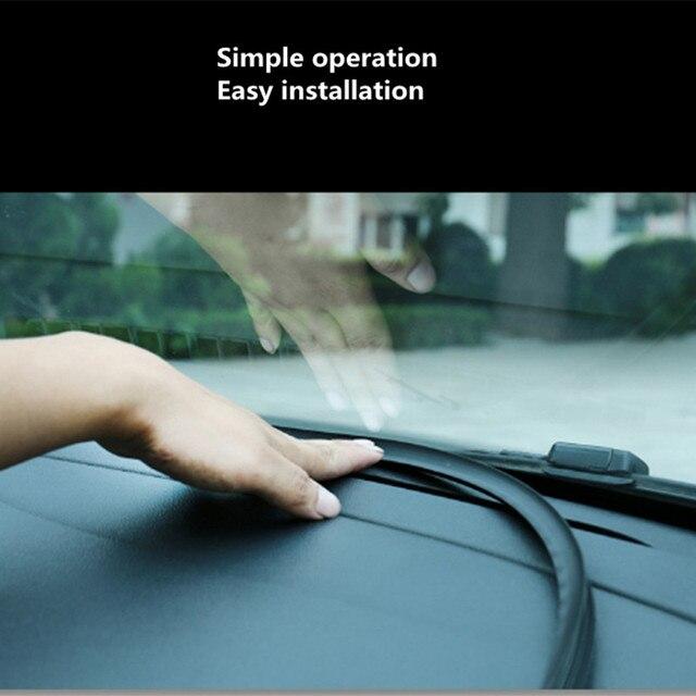 מדבקות לרכב לוח מחוונים איטום רצועות מוצרים עבור סובארו פורסטר 2014 2016 2009 אאוטבק אימפרזה Legacy אוטומטי אביזרי פנים