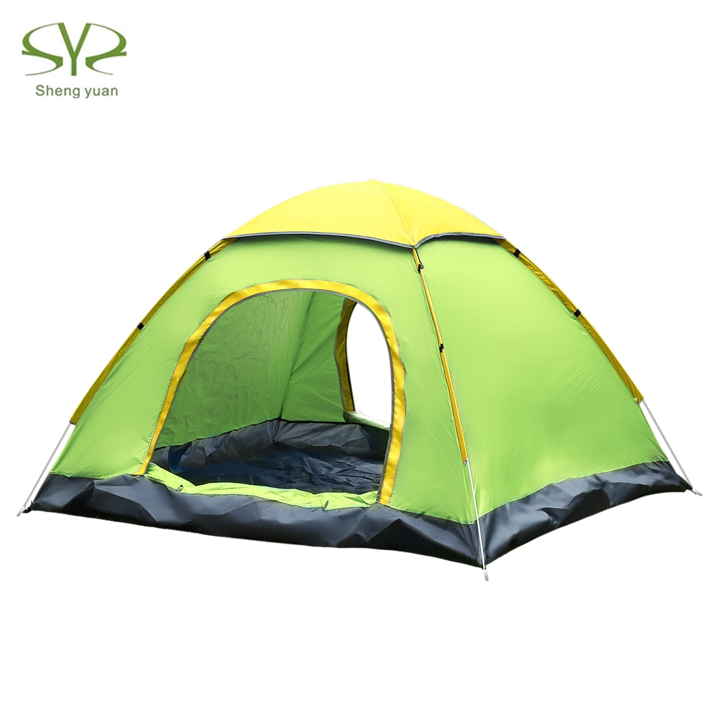 3-4 person Camping Tent Hydraulic Waterproof Double Layer Tents Ultralight Outdoor Hiking Picnic Quick Automatic Opening Tent3-4 person Camping Tent Hydraulic Waterproof Double Layer Tents Ultralight Outdoor Hiking Picnic Quick Automatic Opening Tent