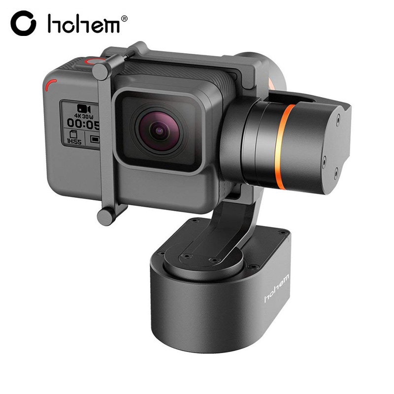 Hohem XG1 3-axis Wearable Gimbal Stabilizer Compatible GoPro Hero 6 / 5 / 4 / 3 / Yi CAM / SJCAM Action Camera Similar DimensionHohem XG1 3-axis Wearable Gimbal Stabilizer Compatible GoPro Hero 6 / 5 / 4 / 3 / Yi CAM / SJCAM Action Camera Similar Dimension