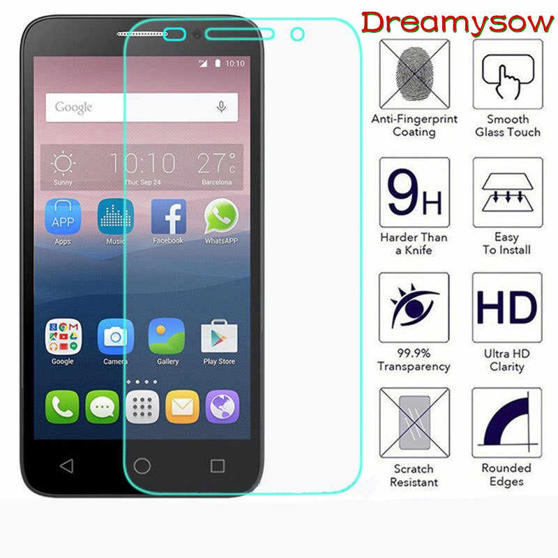 Tempered Glass For Alcatel 3 3L 2019 A30 U5 C5 C7 Screen Protector Film for Alcatel Idol 3 4 5S Pop3 1 1X 3X 3C Phone Case Cover