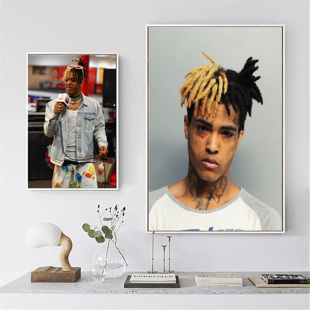 Xxxtentacion Jahseh Dwayne Onfroy Canvas Printed Painting Wall Art Pictures Home Decor Poster And Print Living Room Decoration
