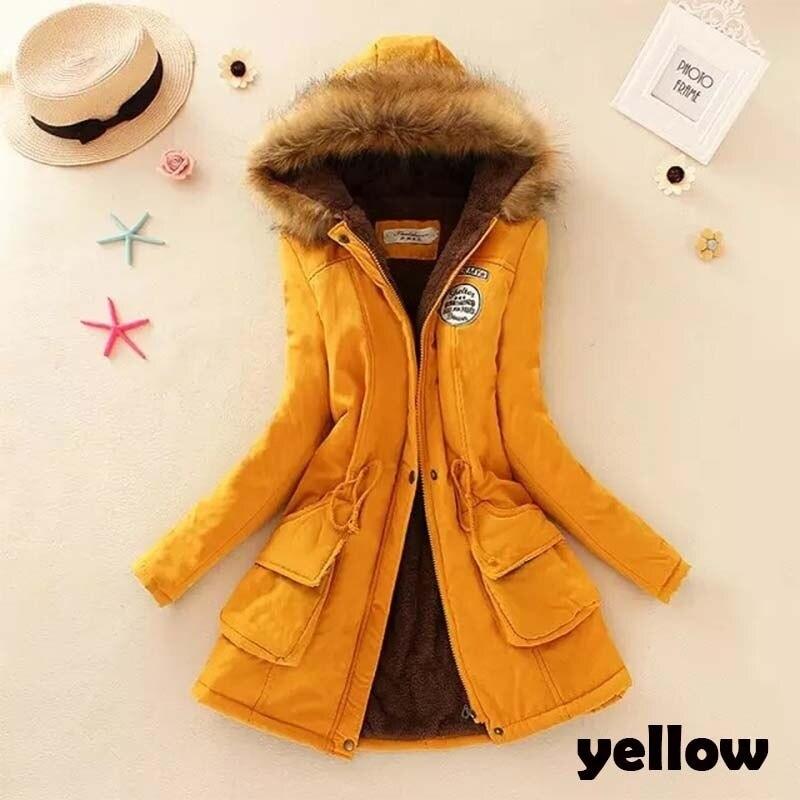 À Fourrure Femmes Longue Outwear D'hiver Casual Chaud Femme Épaissie Capuche Parka Plus De Manteau Taille Vestes q5xPHtX