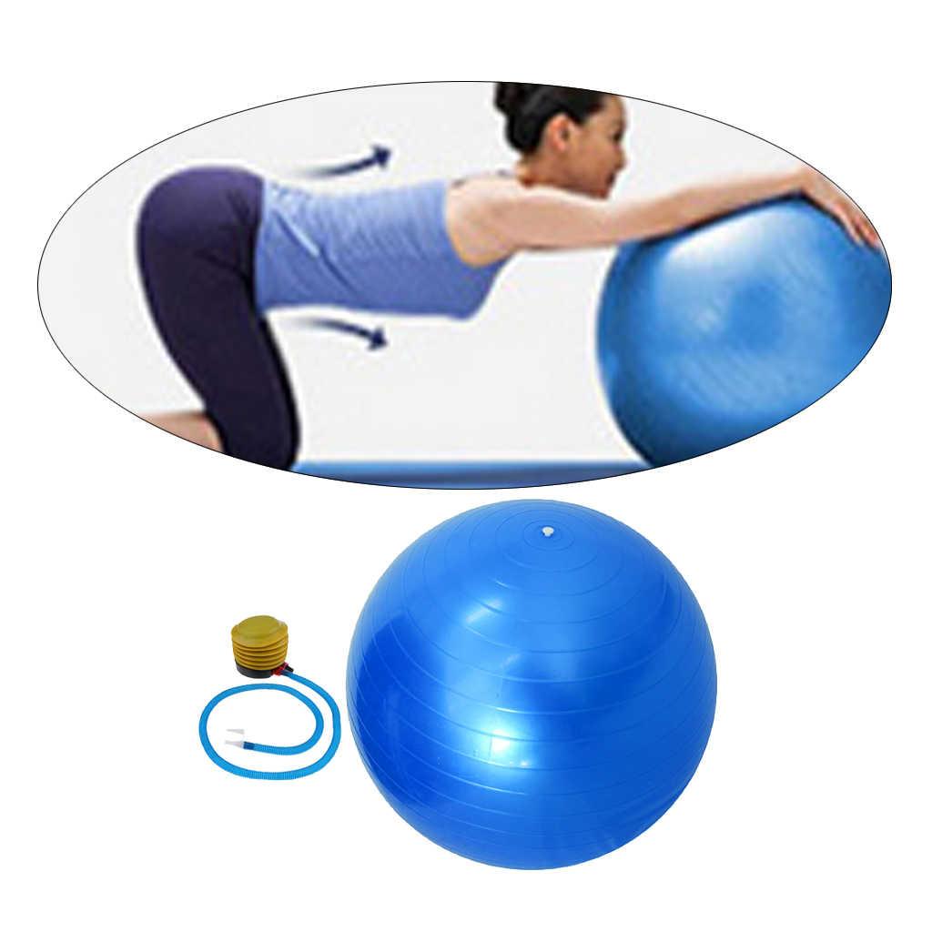 Lot of TEN BURST-RESISTANT 65cm Exercise Swiss Gym Fitness Balls