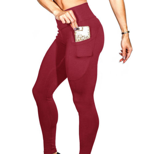 Women Sexy Push Up Pants Sport Gym Skinny   Leggings   Fitness Trousers Casual Women Clothing Sets Outfits Clothes Sets 2018 New