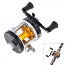 Metal Drum Fishing Reel Gear Ratio 3.8:1 Right Hand Trolling Reel Casting Sea Fishing Reel Saltwater Bait Casting Reel Coil sougayilang feeder spinning fishing reel china left right reel fishing gear coil 12 1 ball bearing metal sea fishing reel peche