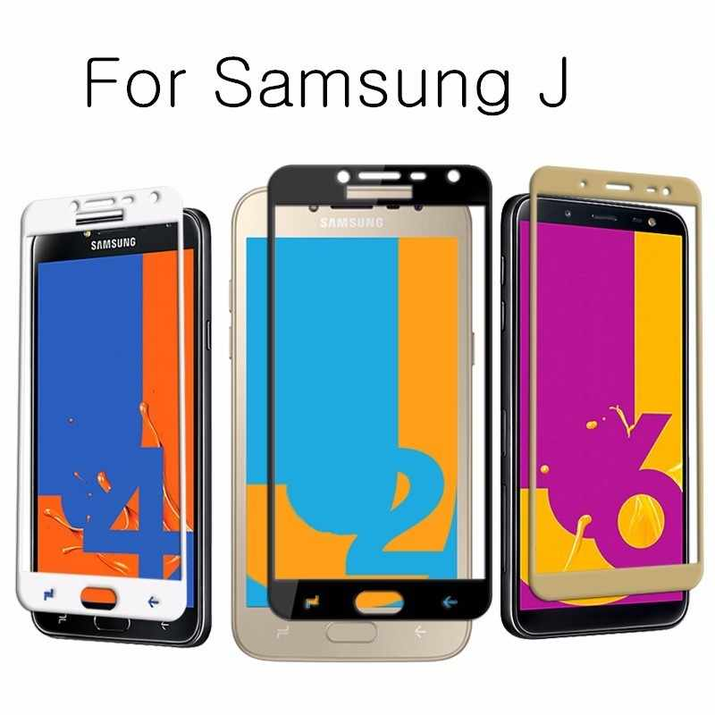 HD Screen Protector Case For Samsung Galaxy J6 4 A6 A8 Plus j2 Pro 2018 Glass A7 A5 A3 J3 J5 J7 2017 J2 Prime Protection Film
