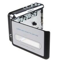 USB Портативный кассета MP3 конвертер Tape-to-MP3 плеер с наушниками